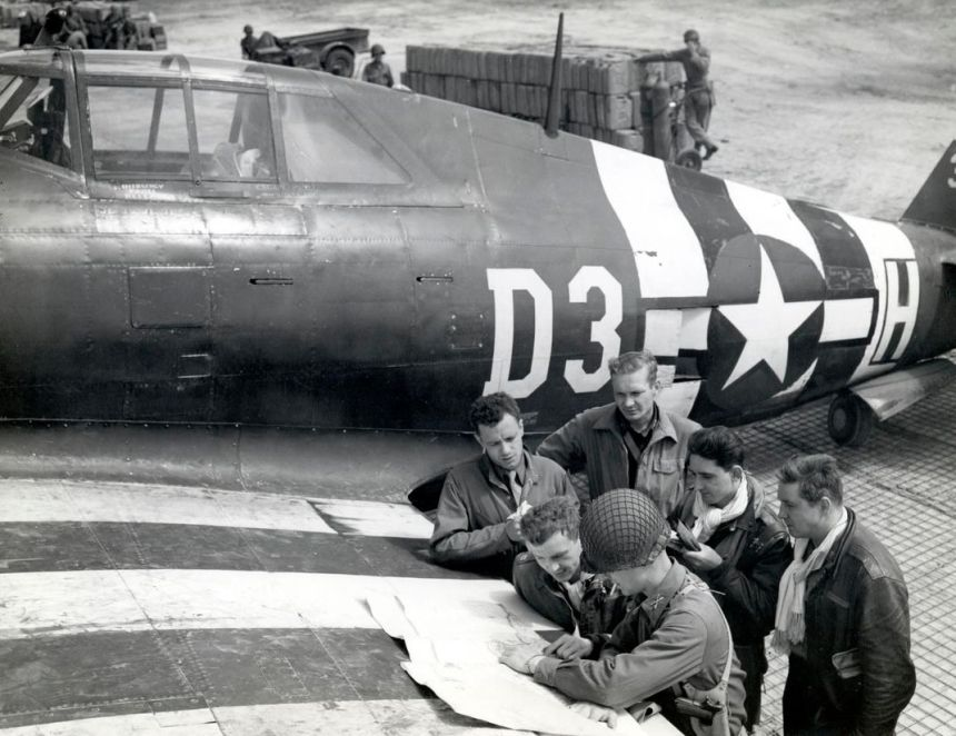 D-Day P-47 1