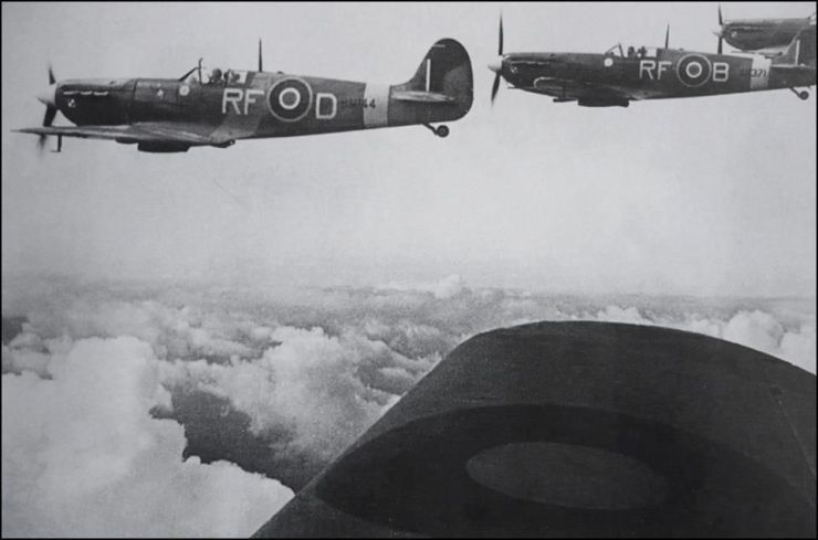 303 Spitfires Dieppe