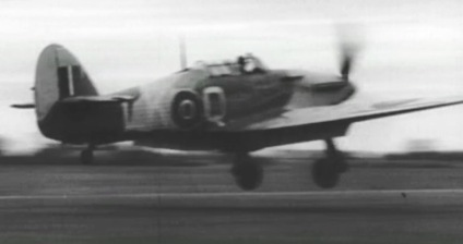87 Squadron Hurricane Mk.II used for ground attack