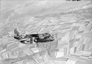 Douglas Boston of 88 Squadron used extensively for smoke laying operations; Leigh-Mallory wrote in his after-action report that he wished there had been many more available