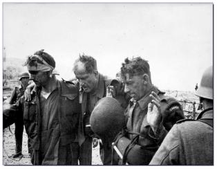 Survivors; captured Canadian POW's