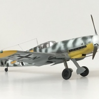 "Rudolf ""Rudi"" Müller's Bf 109 G-2/R6 of 6/Jg5, April 1943"